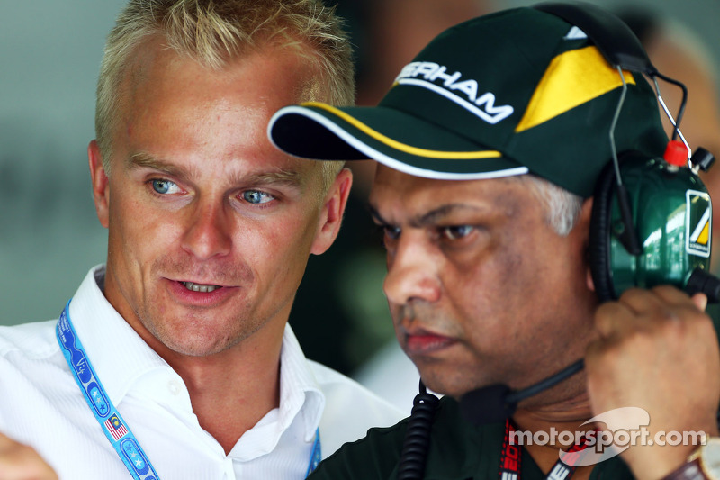 Caterham F1 Team restructures driver line-up