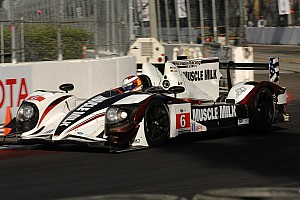 ALMS Qualifying report Pickett Racing to start third at Long Beach