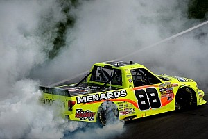 NASCAR Truck Race report Crafton adds to ThorSport's 2013 dominance with Kansas win