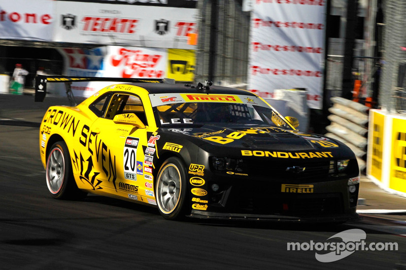 Lee scores GTS pole at Long Beach