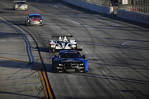 ALMS Race report Michelin street soft tires and Pickett Racing HDP street savvy win at Long Beach