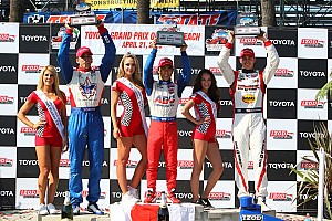 IndyCar Race report Sato claims first win on streets of Long Beach