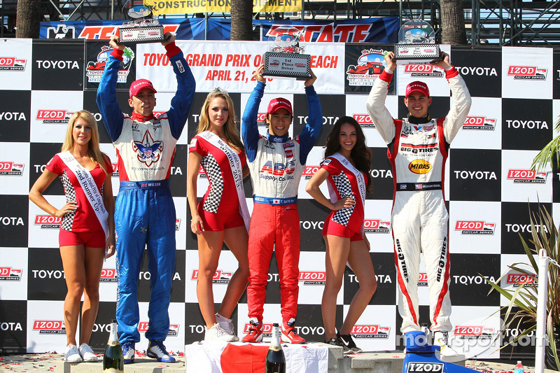 Sato claims first win on streets of Long Beach