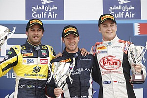 GP2 Race report Coletti ending Bahrain's weekend on the podium