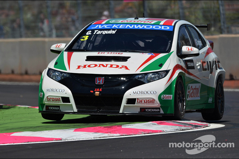 Tarquini leads Honda 1-2-3 in qualifying at the Slovakia Ring