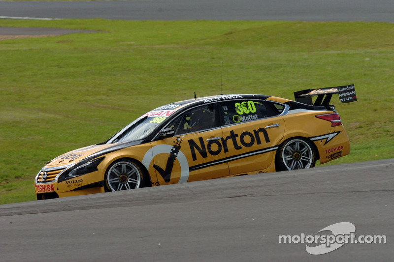 Moffat keeps top 10 result rolling for Nissan