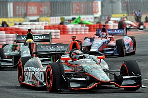IndyCar Race report Hildebrand leads in Brazil, finishes 15th in thrilling shootout