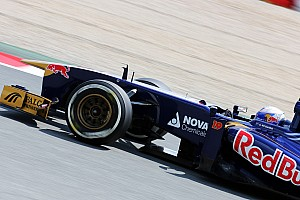 Formula 1 Practice report Encouraging friday for Scuderia Toro Rosso drivers
