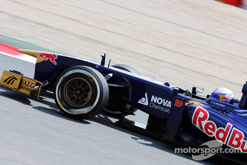 Encouraging friday for Scuderia Toro Rosso drivers