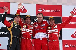 Formula 1 Race report Ferrari's Alonso achieves Spanish GP success