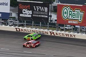 NASCAR Cup Race report Long green flag runs cause long night for Patrick at Darlington Raceway