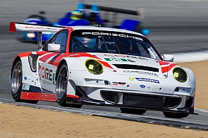 ALMS Race report CORE PC squad finishes second in Monterey while Porsche battles back