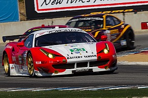 ALMS Race report Alex Job Racing takes exciting fourth in GT at Laguna Seca