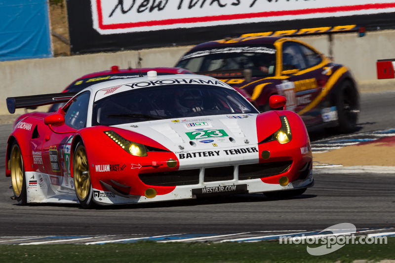 Alex Job Racing takes exciting fourth in GT at Laguna Seca