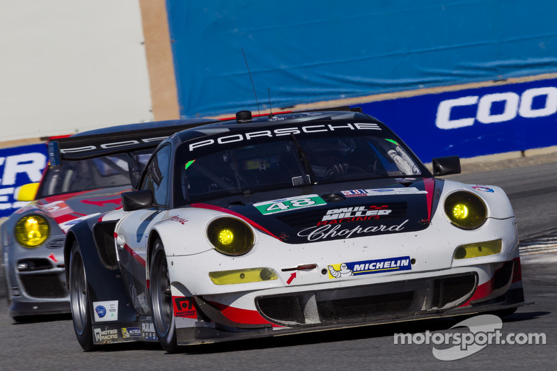 Sixth place result for Miller, Holzer and Miller Racing in Monterey