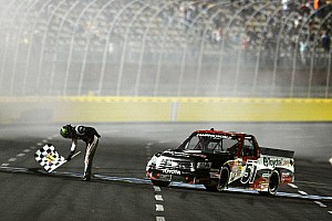 NASCAR Truck Race report Kyle Busch aces truck race at Charlotte