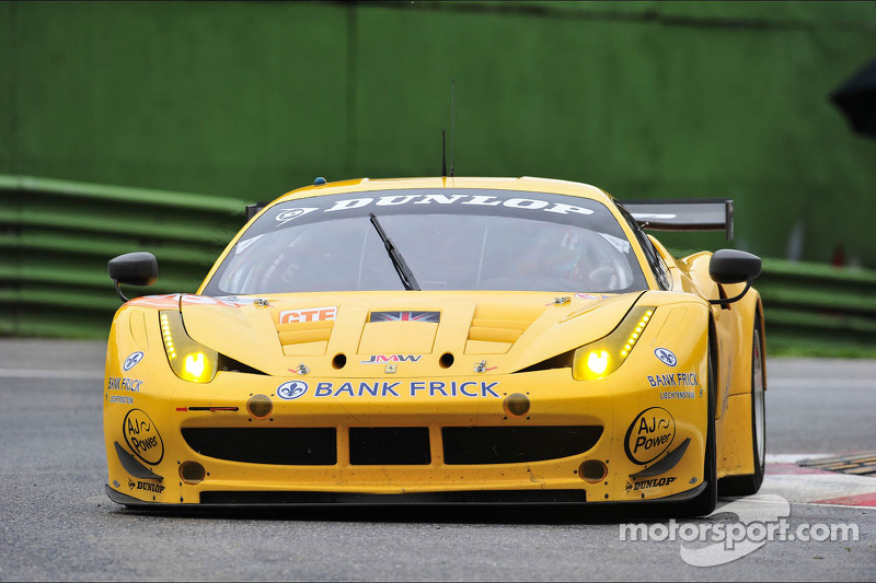 Again a 4th and a podium shortly missed for Camathias at Imola