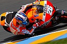 Pedrosa takes championship lead after dominating damp French Grand Prix