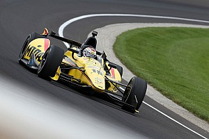 IndyCar Qualifying report RLLR's Rahal was the second fastest qualifier on