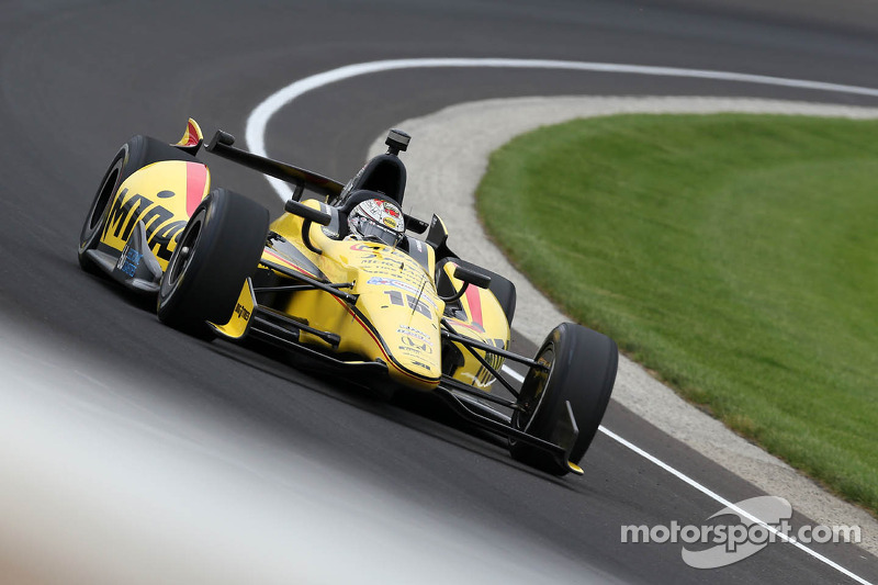 """RLLR's Rahal was the second fastest qualifier on """"Bump Day"""" at Indianapolis"""