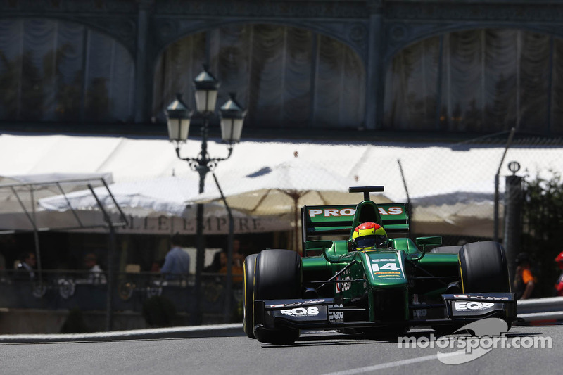 Monaco Race 1: A very fast Canamasas continues without reward