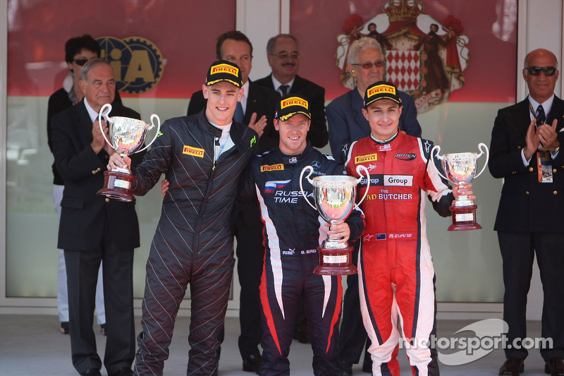 Kevin Ceccon ended 2nd in race 1 at Monte Carlo