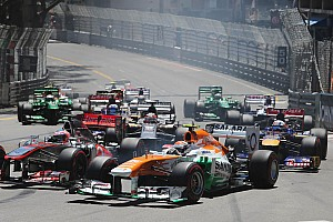 Formula 1 Race report Best Sahara Force India result ever on Monaco GP