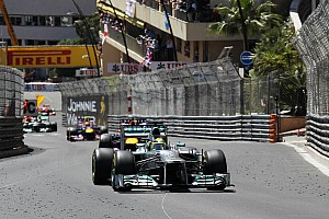 Formula 1 Race report Rosberg wins an action-packed Monaco GP - Pirelli