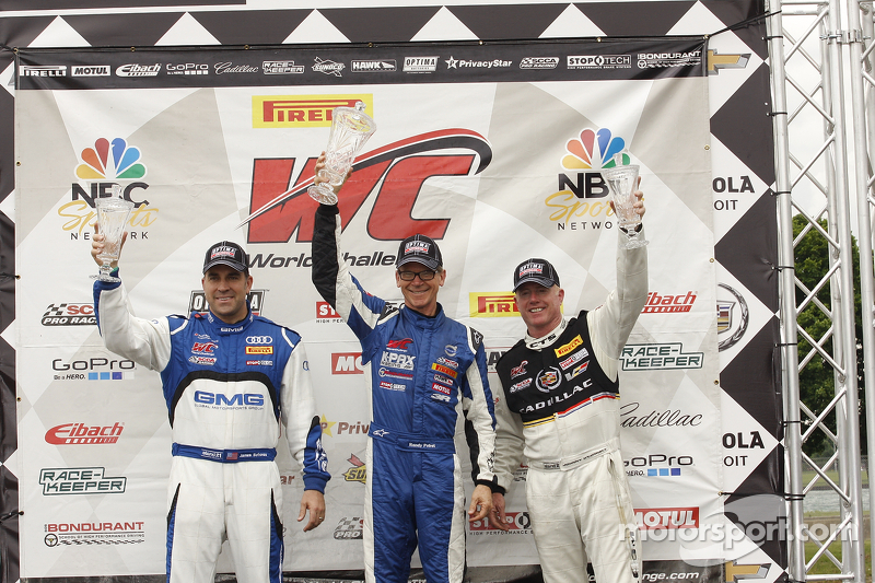Pobst and Martin survive to take  GT and GTS wins at Belle Isle