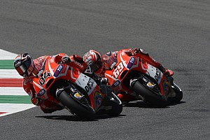 MotoGP Race report Top-ten result for Ducati team at home GP