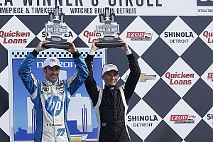 IndyCar Race report Conway takes third on Race 2 in Detroit