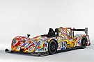 The OAK Racing Costa Art Car unveiled at the Le Mans 24-Hours test day