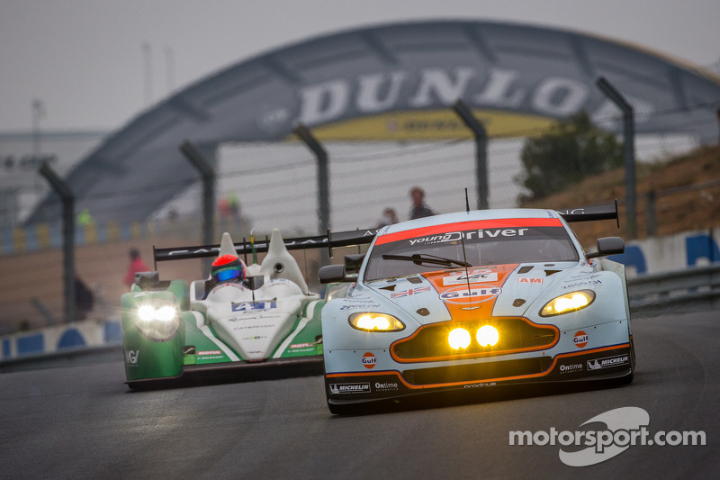 Young Driver AMR completes successful Le Mans test