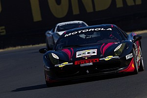 Ferrari Race report Becker pleased with Coppa Shell podium finish in Montreal