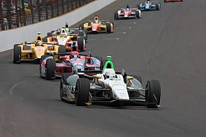 IndyCar Race report Carpenter strong early at Milwaukee Saturday before handling his car goes loose