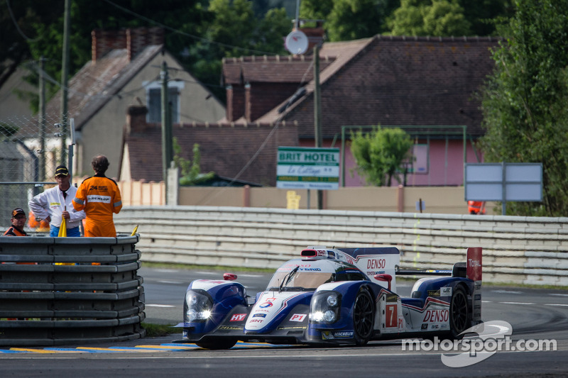 Track action begins for Toyota Racing at Le Mans