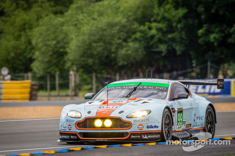 Double pole for Aston Martin at Le Mans
