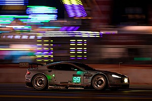 Le Mans Breaking news Racing to win for Allan, AMR leads at 8 hour mark