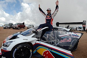 Hillclimb Breaking news Loeb sets new Pikes Peak course record