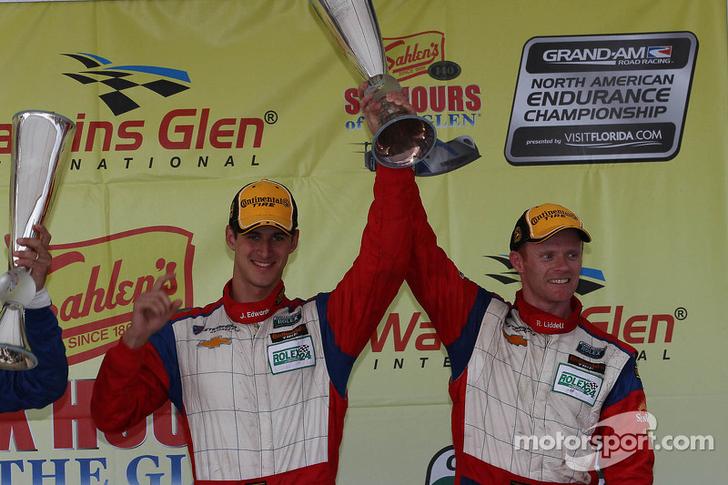 Winners in Six Hours of the Glen gave for Team Chevy double victory