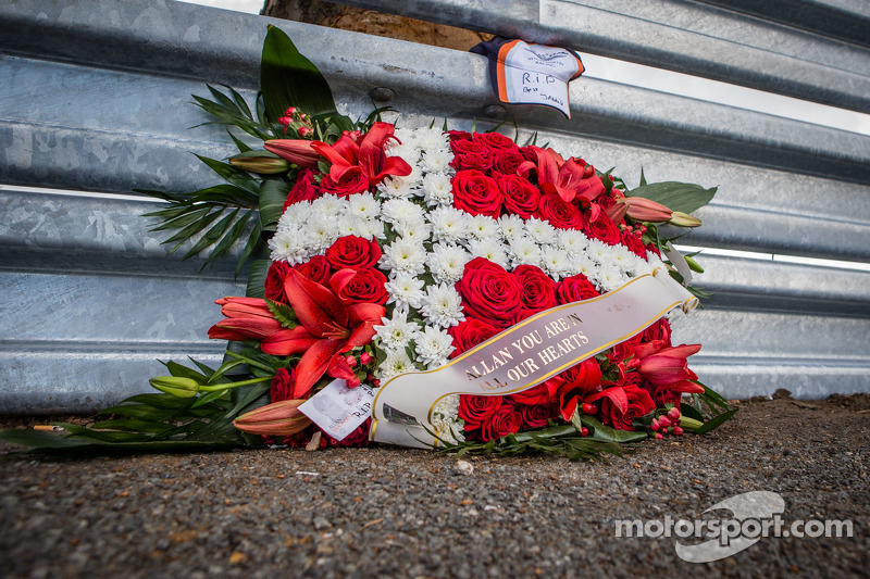 Young Driver AMR: Note of thanks on the death of Simonsen