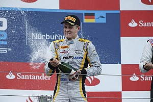 GP2 Race report Ericsson escapes to take the Feature Race victory in Germany