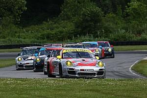 ALMS Race report Flying Lizard Motorsports completes Northeast Grand Prix