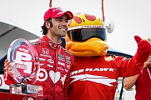 IndyCar Breaking news Franchitti scores pole for standing start race one in Toronto