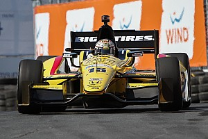 IndyCar Qualifying report RLL's Rahal qualified 20th for Race 2 in Toronto