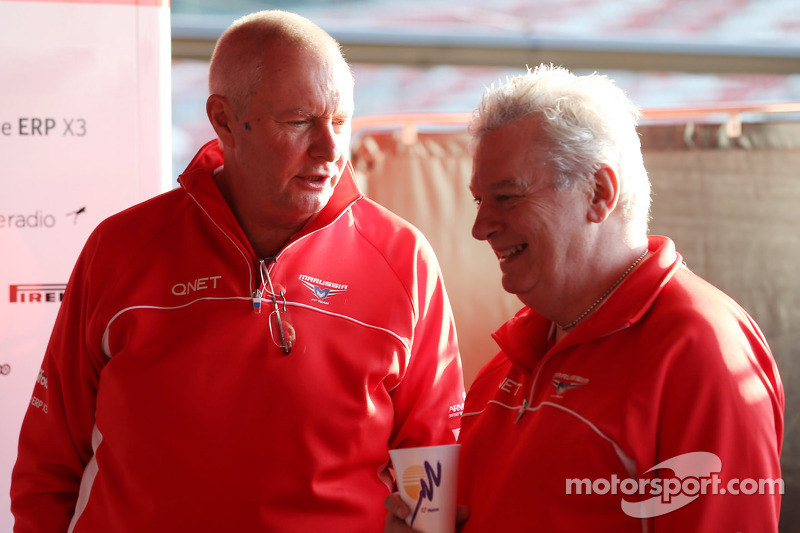 Marussia F1 Team and Pat Symonds part company