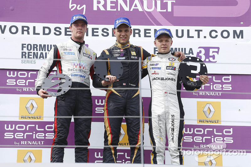 Marco Sorensen wins race one in Austria