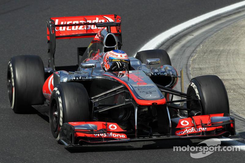 High temperatures afected McLaren's Friday practice at Hungaroring