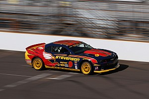 Grand-Am Race report Stevenson Motorsports day on CTSCC ends early at Brickyard after contact