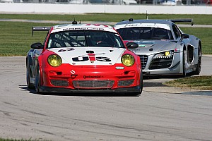 Grand-Am Race report Snow, Davis challenges for win at Indy, ends 7th in GT
